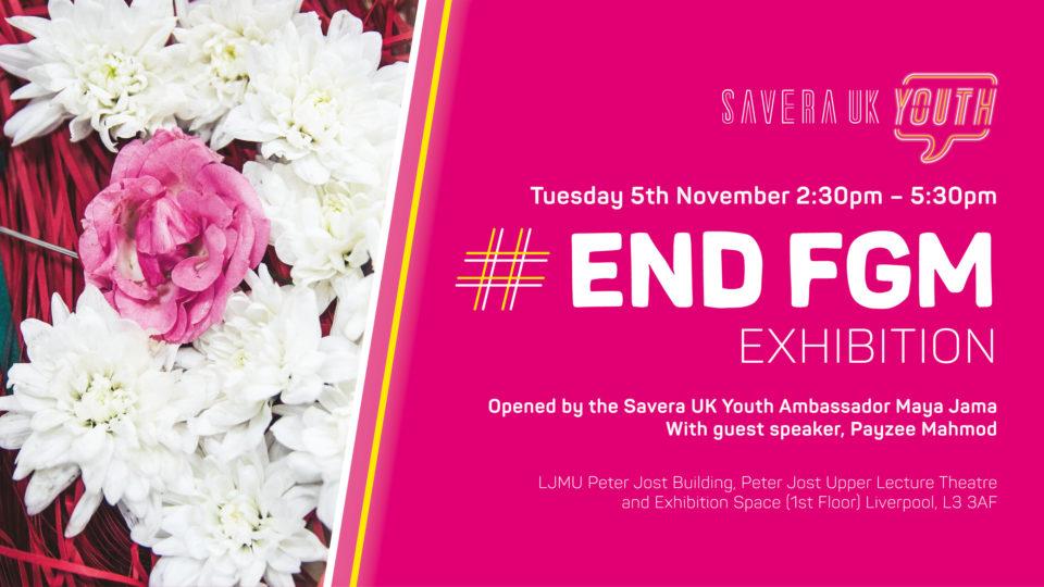 Event: Savera UK Youth #EndFGM Exhibition