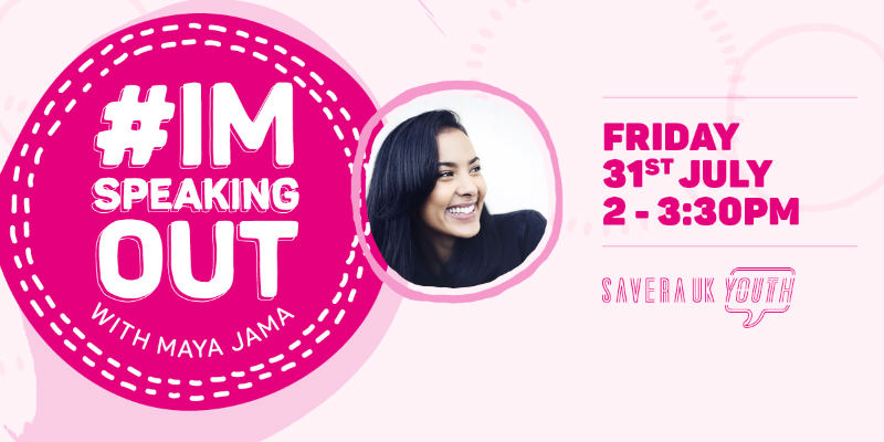 Savera UK Youth: #ImSpeakingOut with Maya Jama Quiz